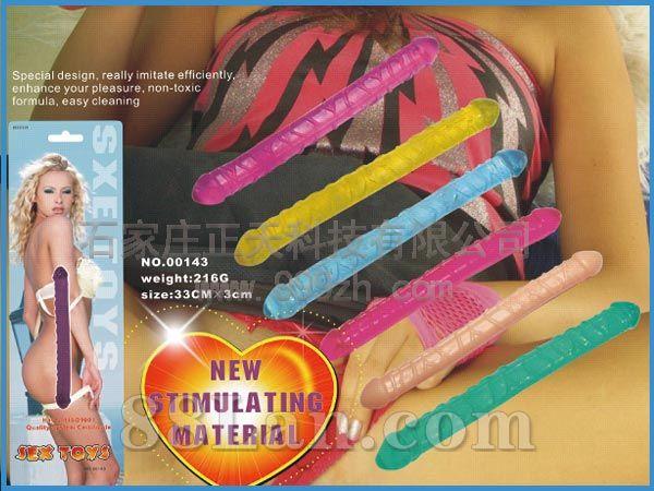 双头水晶棒NO.00143  成人用品-性器具