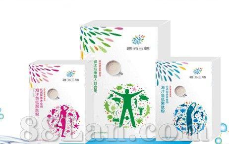 碧海玉膳――海洋鱼低聚肽综合营养配方(精品礼盒)