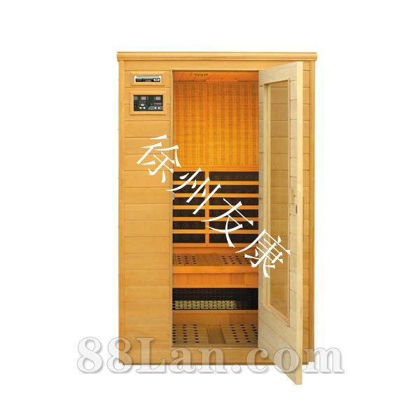 汗蒸房的工作原理: 汗蒸房在通电后,安装在其中的加热板所含的锗碳