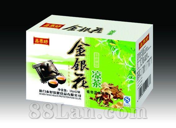 金银花凉茶(盒装)