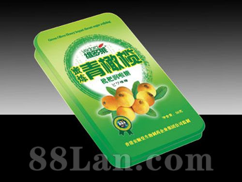 蜜炼青橄榄润喉糖