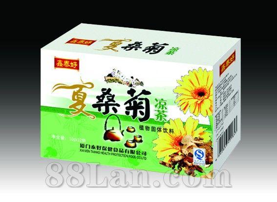 夏桑菊凉茶盒装――冲剂系列