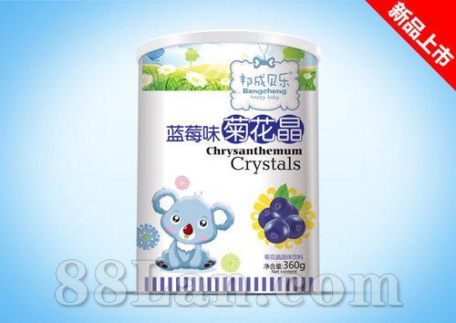 菊花晶纸听-蓝莓味
