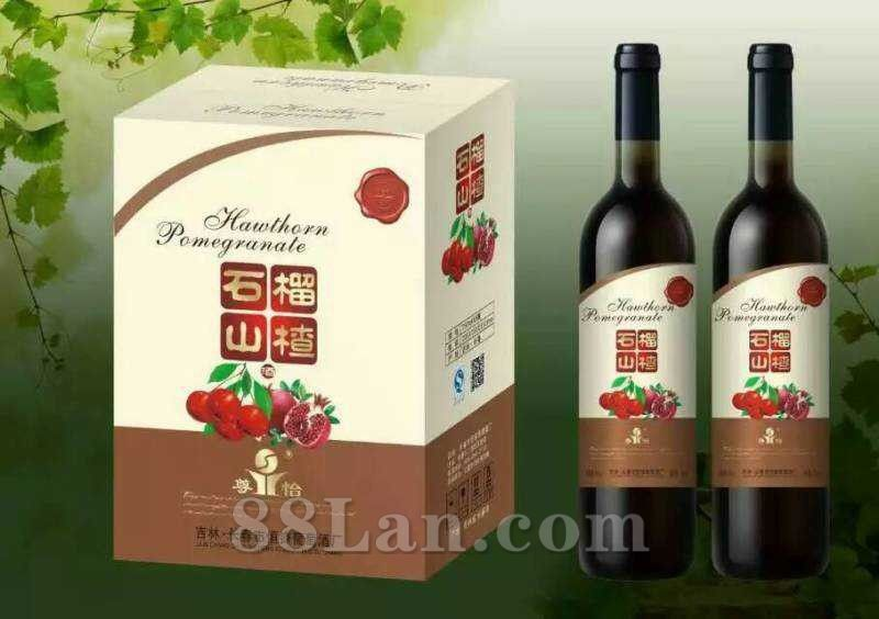 石榴山楂酒-保健酒