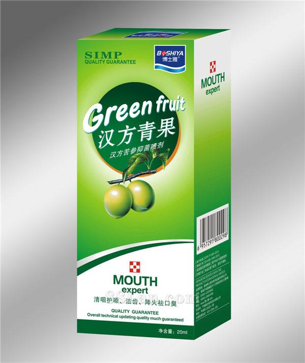 汉方青果-口腔护理喷剂