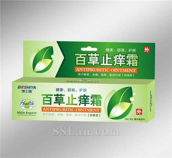 百草止痒霜-皮肤抑菌剂