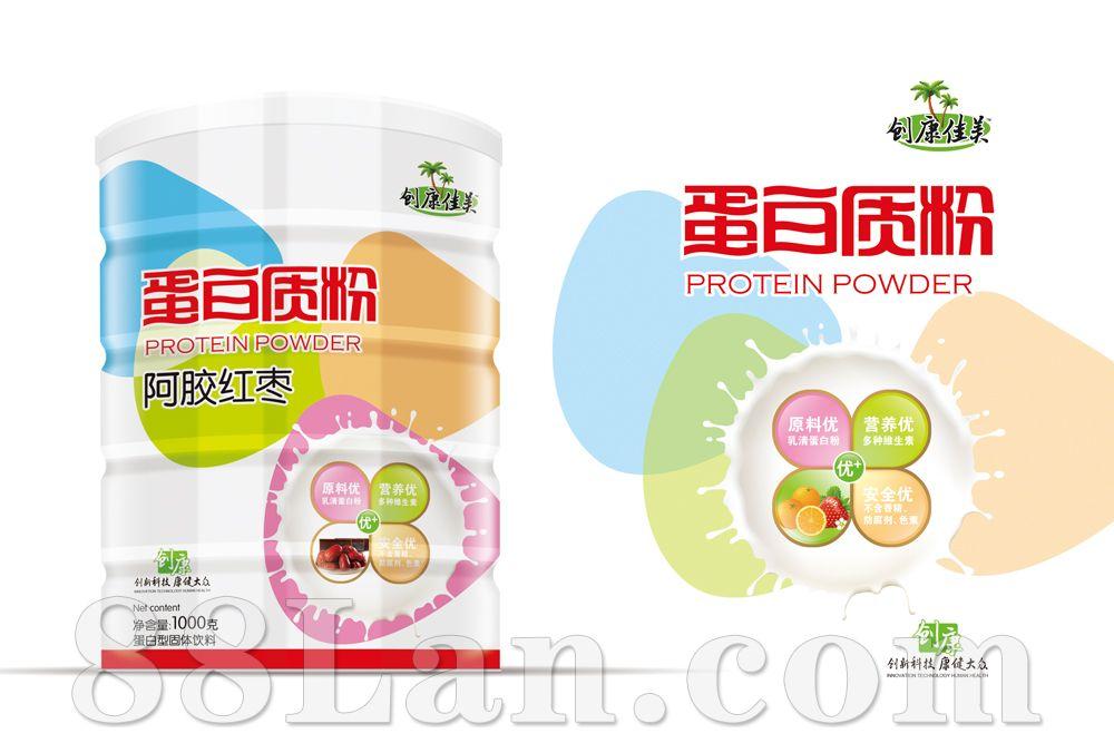 阿胶红枣蛋白质粉 创康品牌