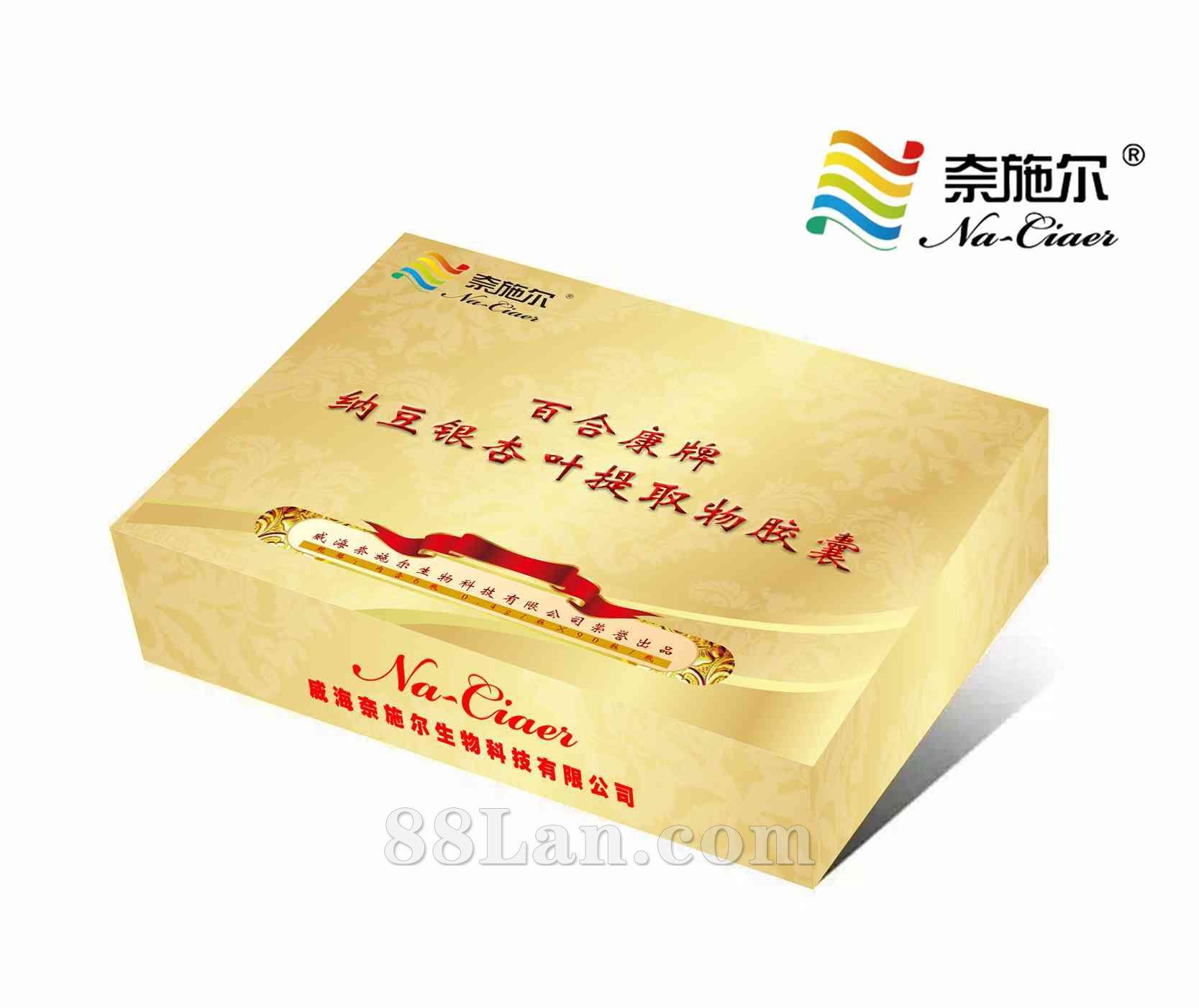 威海奈施尔生物科技有限公司 → 纳豆银杏叶礼盒   产品类别: 保健