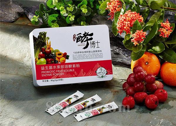 台湾大鸿酵博士益生菌水果即溶酵素粉