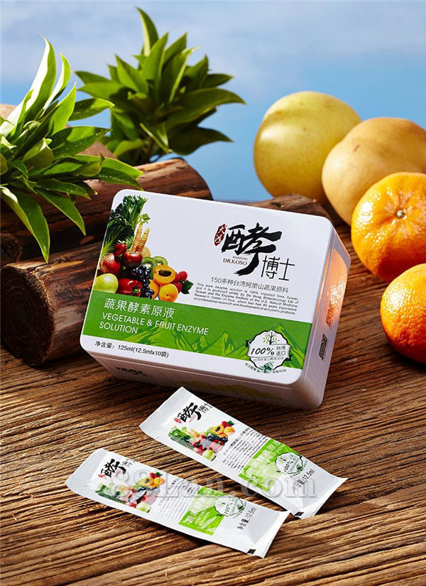 台湾大鸿酵博士蔬果酵素原液