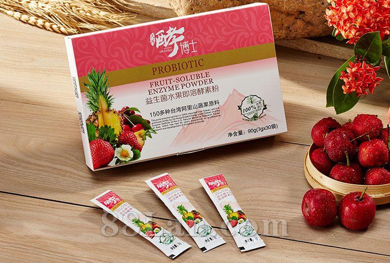 益生菌水果即溶酵素粉