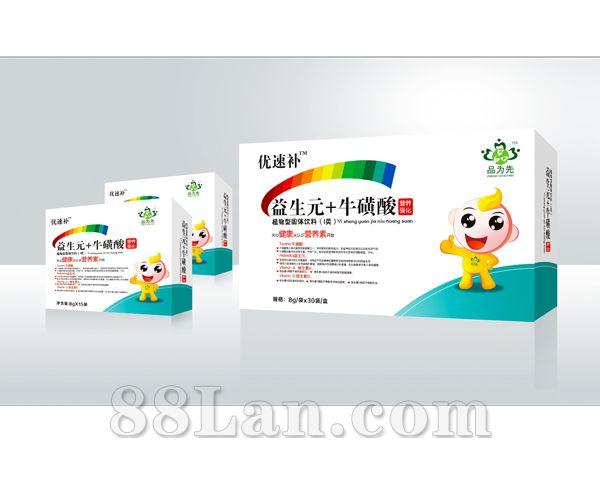 优速补 益生元+牛磺酸—颗粒系列