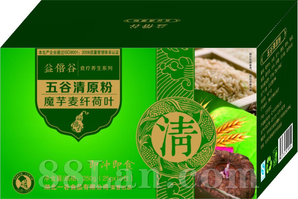 五谷清原粉-魔芋麦纤荷叶