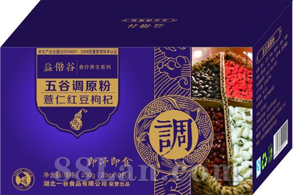 五谷调原粉-薏仁红豆枸杞