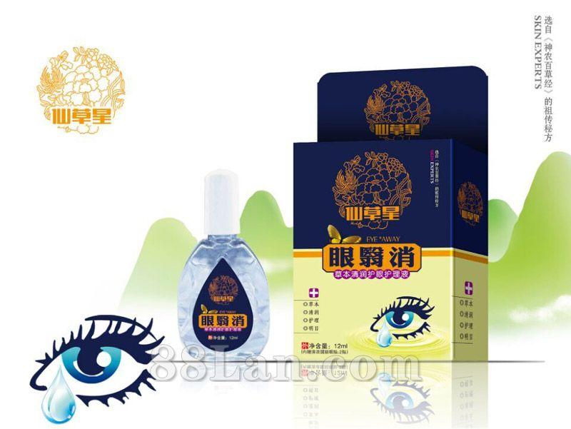 眼�C消护理液―仙草星滴眼液