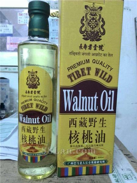西藏特产野生核桃调和油500ML支持一件代发支持OEM