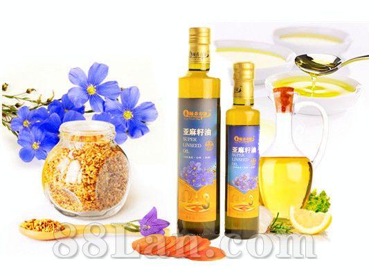 亚麻籽油-内蒙古兴源集团推广项目