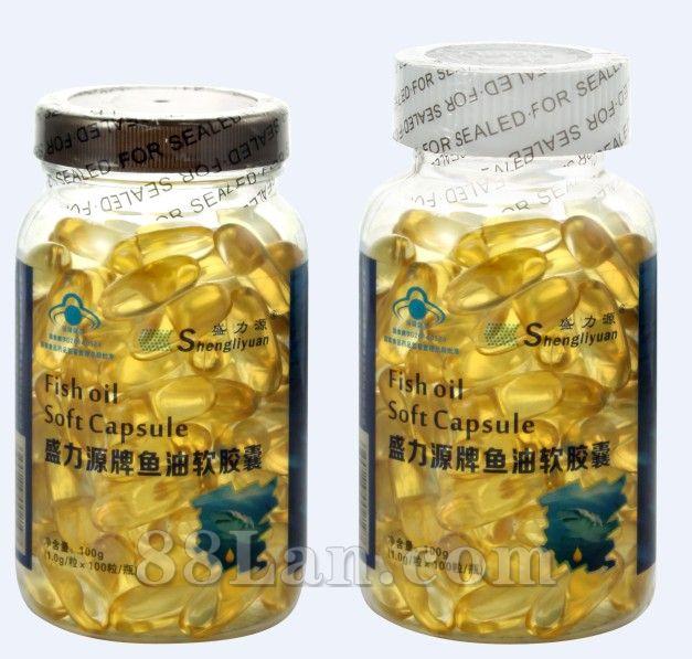 盛力源牌鱼油透明标签