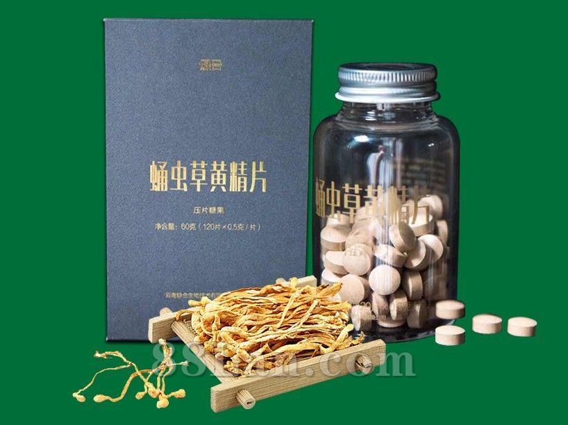 蛹虫草黄精片