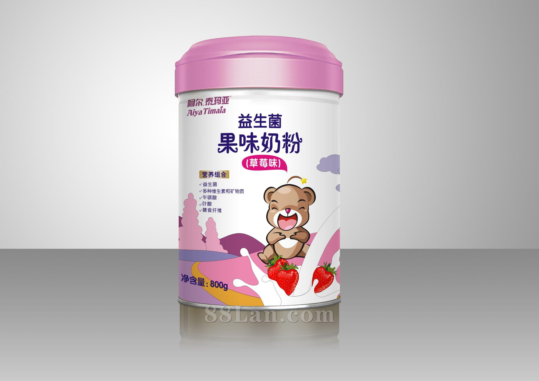 益生菌草莓味奶粉