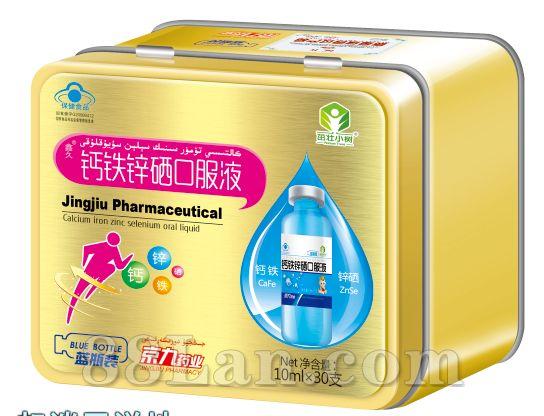 钙铁锌硒口服液(国食健字)