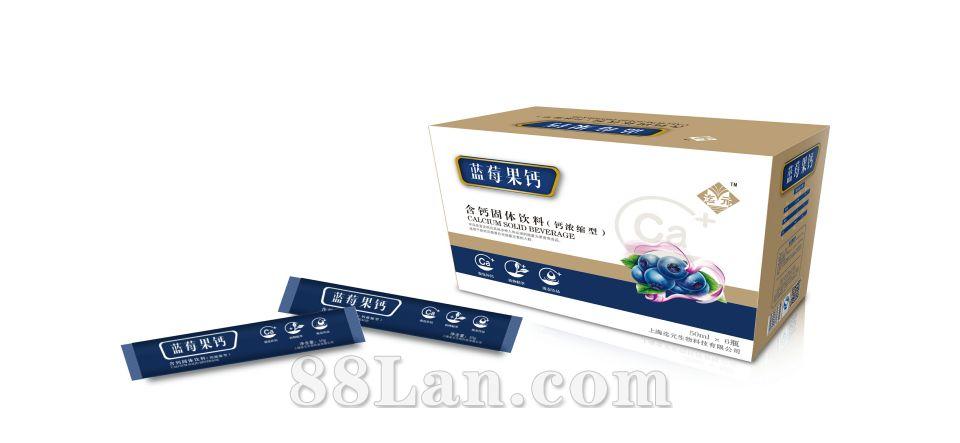 蓝莓果钙植物饮品