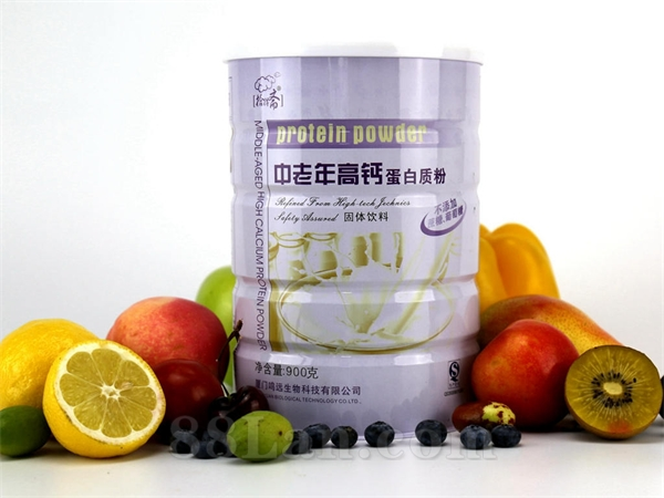 拾得斋品牌/中老年高钙蛋白质粉900g/批发代理OEM招商