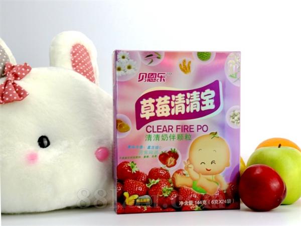 同萌乐-草莓清清宝(6gX24袋)厂商底价全国招商