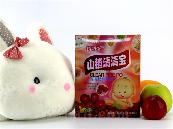 同萌乐/山楂清清宝(6gX24袋)批发代理 清清宝颗粒贴牌代工