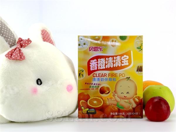 同萌乐-香橙清清宝(6gX24袋)鸣远厂家底价供应招商
