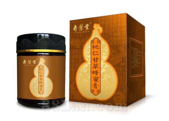 蜂�a品-桃仁甘草蜂蜜膏