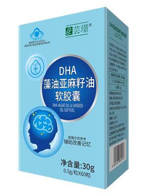 芸�Z DHA藻油亚麻籽油软胶囊