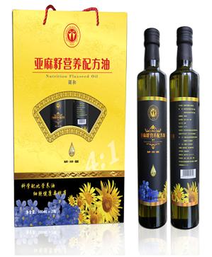 燕未园亚麻籽营养配方油