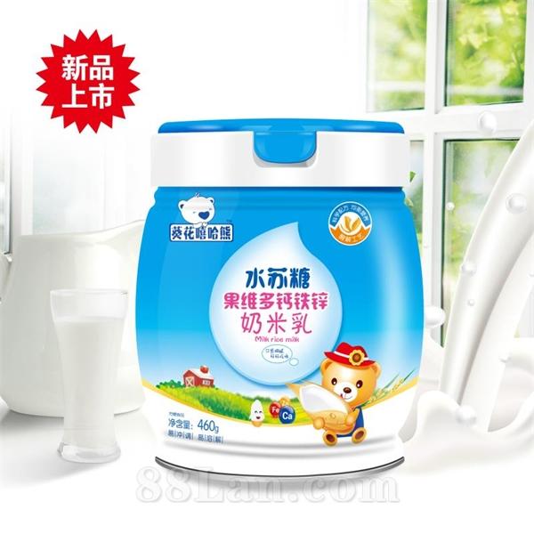 水苏糖果维多钙铁锌奶米乳