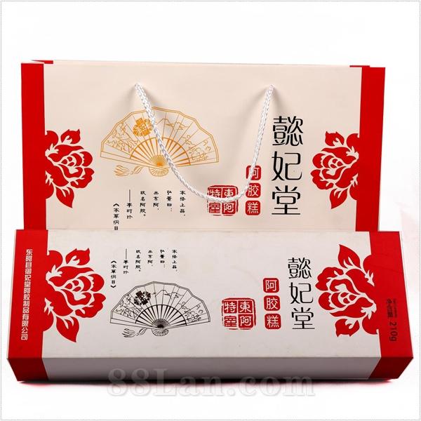精美礼盒阿胶糕原味型、玫瑰型