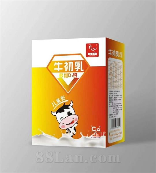 牛初乳多维D3钙增强免疫力儿童补钙