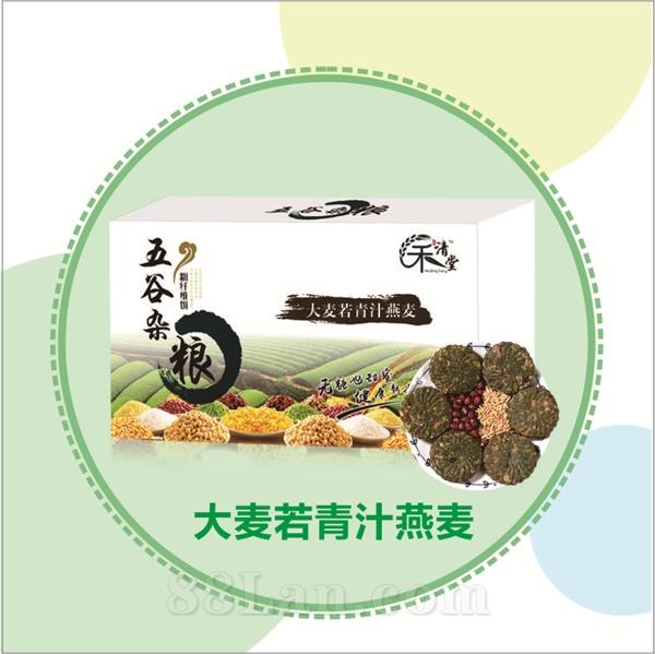 青汁燕麦谷物营养饼
