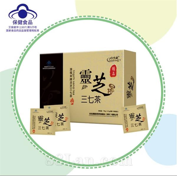 灵芝三七茶  调节血脂