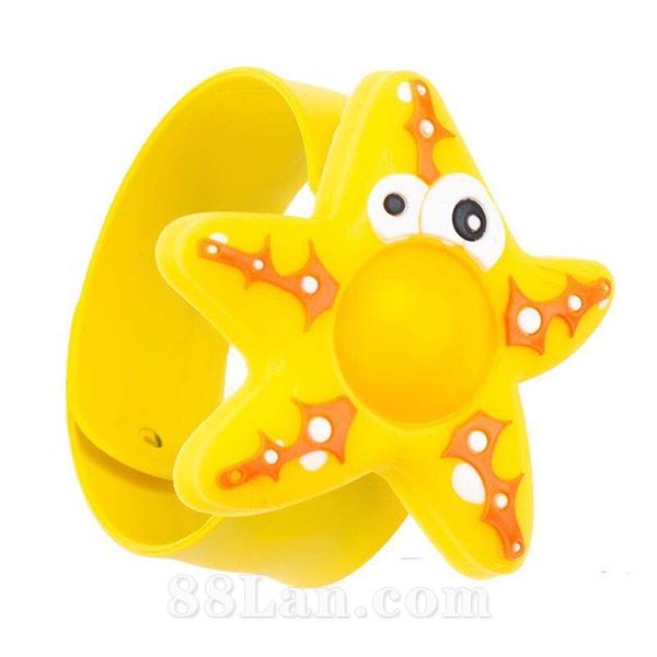 驱蚊手环--黄五角星