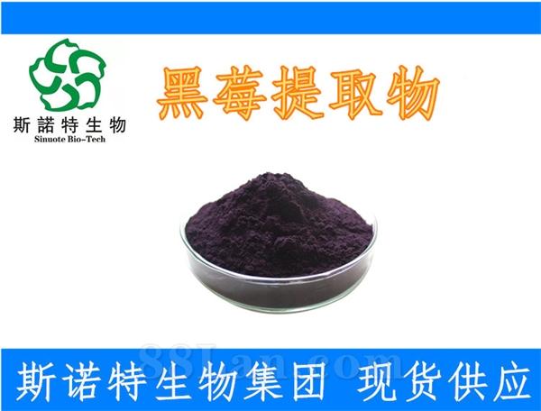 黑莓提取物 99%水溶性 黑莓粉花青素