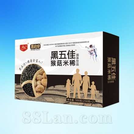黑五佳猴菇米稀固体饮品