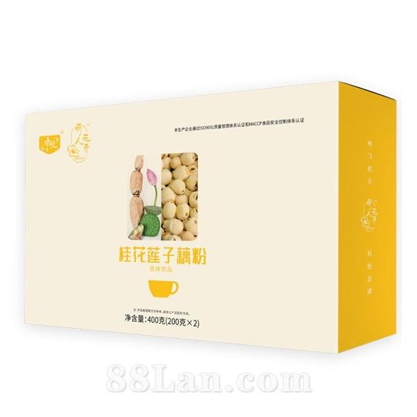 桂花莲子藕粉