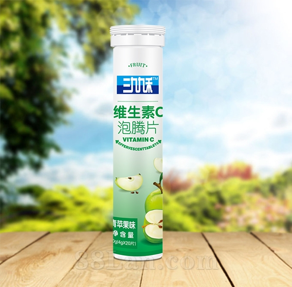 �S生素C泡�v片(青�O果味)