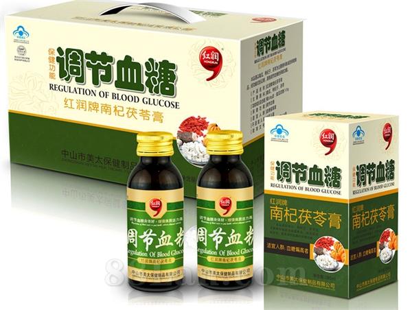 红润牌南杞茯苓膏   调节血糖生产厂家  专注保健品工厂