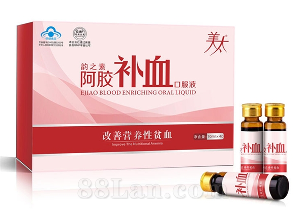 韵之素阿胶血口服液  改善营养性贫血 专业打造女性健康工厂