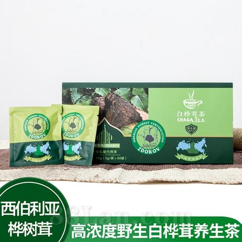 【滋得洛夫】桦褐孔菌代用茶 降血糖 降血压