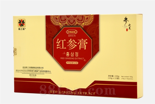 红参膏10g(红参膏代工,OEM)