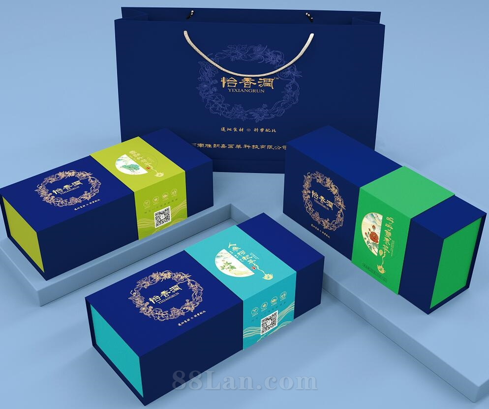 固体饮料包装盒-茶叶包装盒定做-免费设计