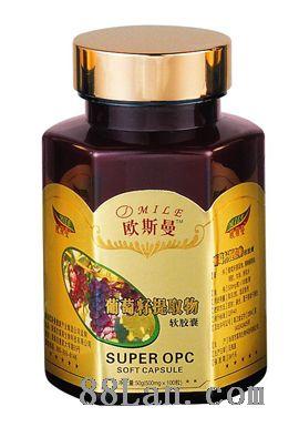 欧斯曼葡萄籽提取物软胶囊--****, 降糖降脂, 通便润肠