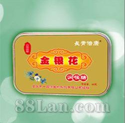 金银花润喉糖-铁盒装